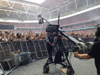 Jimmy Jib for filming music events and concerts
